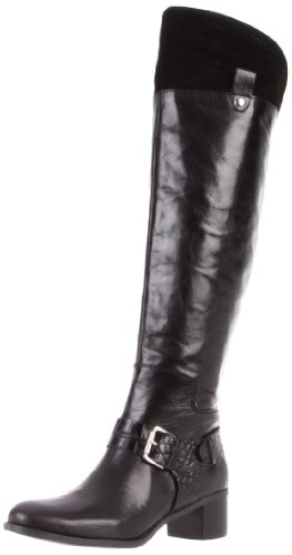 Nine West Women's Devendra Knee-High boot,Black Multi Leather,7 M US