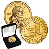 24K Gold Plated Sacagawea