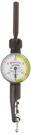 Starrett Last Word Dial Test Indicator with Attachments, Inch