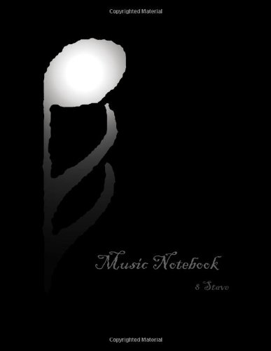 Music Notebook: 8 Stave