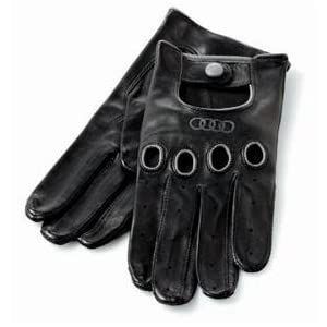Audi Leather Touchtec Driving Gloves Size 8 5 Leather