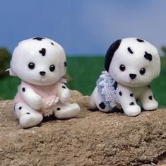 Calico Critters: Dalmation Dog Twins