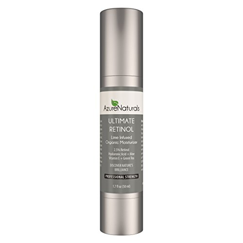 Azure Naturals Ultimate Retinol Lime infused Organic Moisturizer, 1.7 fl. Oz (Azure Naturals compare prices)