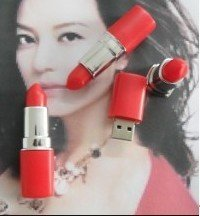 4GB Lipstick USB Drive