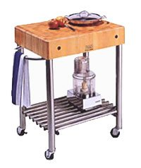 Stainless Steel Mobile Kitchen Cart  5