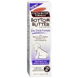 Bottom Butter - Zinc Oxide Diaper Rash - Helps Treat and Prevent Diaper Rash, 4.4 oz,(Palmer's)