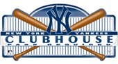 New York Yankees Official Clubhouse Door Sign front-492862