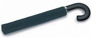 Incognito-21 Mens Auto Crook Handle Umbrella - Black