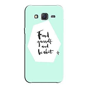 FIND YOURSELF BACK COVER FOR SAMSUNG J5