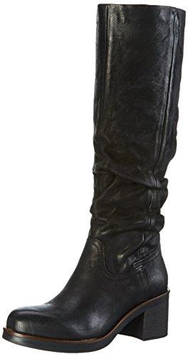 Mjus164316-0201-6002 - Stivali alti con imbottitura leggera Donna , Nero (Nero (Nero)), 36