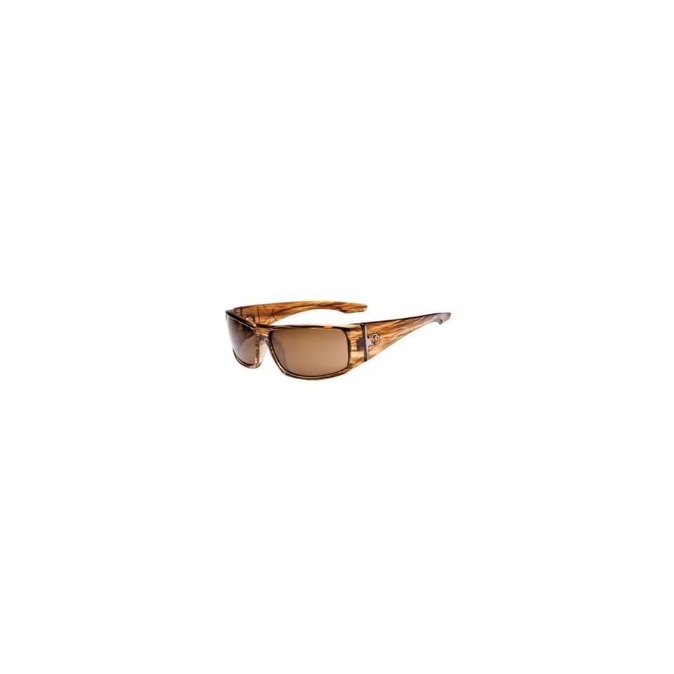 fa0f8ec59eb86 Spy Optics Sunglasses Cooper XL   Frame Shiny Brown Stripe Tortoise Lens  Bronze Polarized