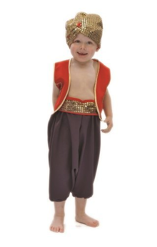 [Boys Arabian Prince Aladdin Fancy Dress Book Week Costume 5-7 Years by Pretend to Bee] (Aladdin Costume For Boy)