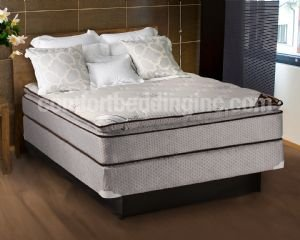 Spinal Comfort Pillowtop Full Size Mattress & Box Spring Set