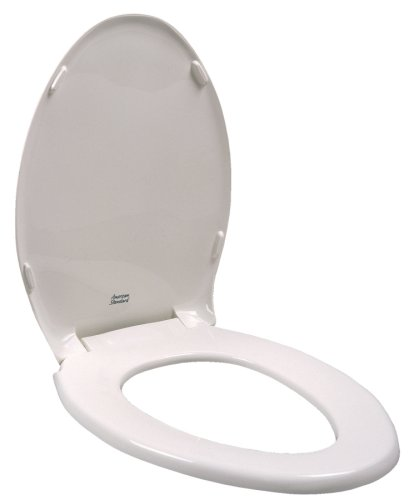 American Standard 5330.010.020 Champion Slow Close Round Front Toilet Seat with Cover, White