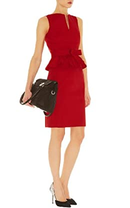 Signature Cotton Peplum Dress
