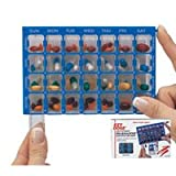 Ezy Dose Pharmadose Medication Organizer, with Locking Device - 1 Ea