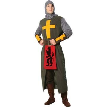 Noble Crusader Knight Adult Costume