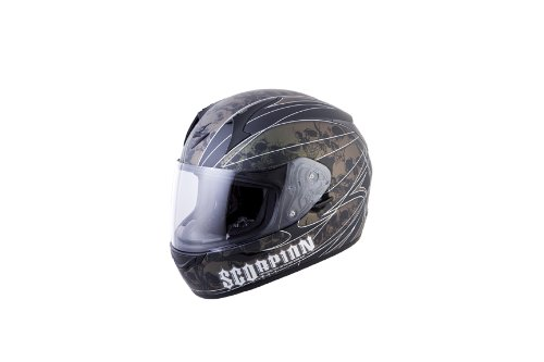 Scorpion EXO R410 Underworld Full Face Motorcycle Helmet chameleon xsmall