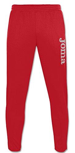 Joma Gladiator - Pantaloni lunghi sportivi unisex, colore rosso  Taglia L