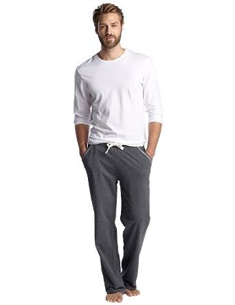 esprit pantalon de pyjama homme gris x3 fr 48 taille fabricant s. Black Bedroom Furniture Sets. Home Design Ideas