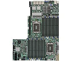 Supermicro - Socket G34 - 2 CPUs supported - AMD SR5690/SP5100 4 x Gigabit Ethernet onboard graphics Sever Motherboard H8DGU-LN4F+-O