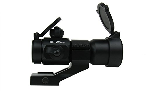 Check Out This TacFire® 1x30mm Tactical Red/Green/Blue Dot Rifle Scope Sight with Cantilever Weaver...