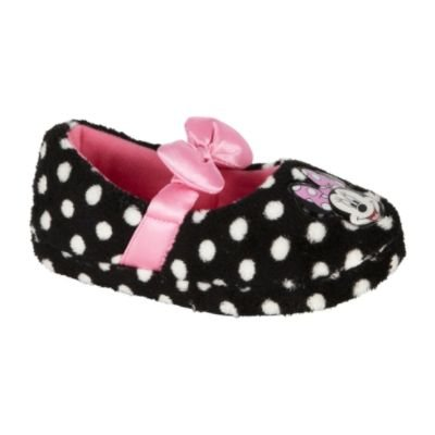 Cheap Disney Minnie Mouse Polka Dot Pink Bow Slippers Toddler Size 9/10 Mickey Mouse Clubhouse (B007S0CH3I)