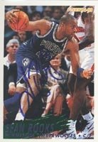 Sean Rooks Minnesota Timberwolves 1994 Fleer Autographed Hand Signed Trading Card. by Hall+of+Fame+Memorabilia