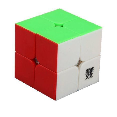 MoYu New YJ Lingpo Speed Smooth 2 x 2 Black Cube Puzzle - 1