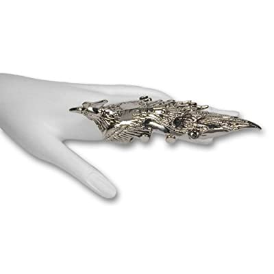 phoenix armour ring - supervillain valentine