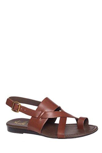 Gia Low Heel Flat Sandal