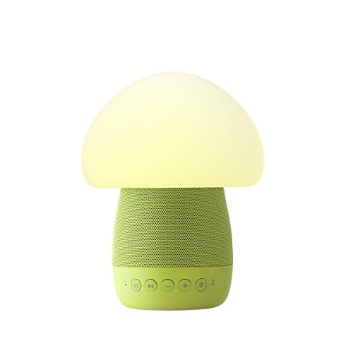 Emoi Mushroom Bluetooth Speaker Emotional Night Light, Baby Light