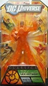 DC Universe Classics Lex Luthor Orange Lantern Collectible Figure by Mattel