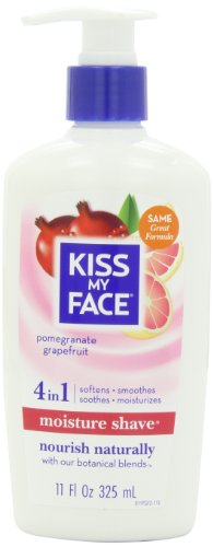 Kiss My Face Moisture Shave, Pomegranate Grapefruit, 11 Fluid Ounce