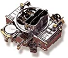 Holley 0-1850S Model 4160 Street Performance 600 CFM Square Bore 4-Barrel Vacuum Secondary Manual Choke New Carburetor