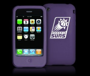 Tribeca Phoenix Suns Iphone 3g / 3gs Silicone Case