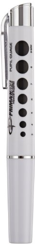 Primacare DL-9325 Reusable LED Penlight with Pupil Gauge