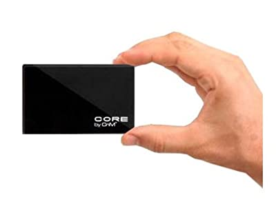 CnM Core 120Gb 120 gb 2.5 inch External Hard Drive Portable USB 2.0 - Pocket Size Slim - Black from Maplin