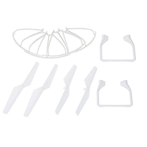 Ilov Landing Gears + telai di protezione + Eliche pezzi di ricambio per MJX X101 Drone Quad (Spare Parts)