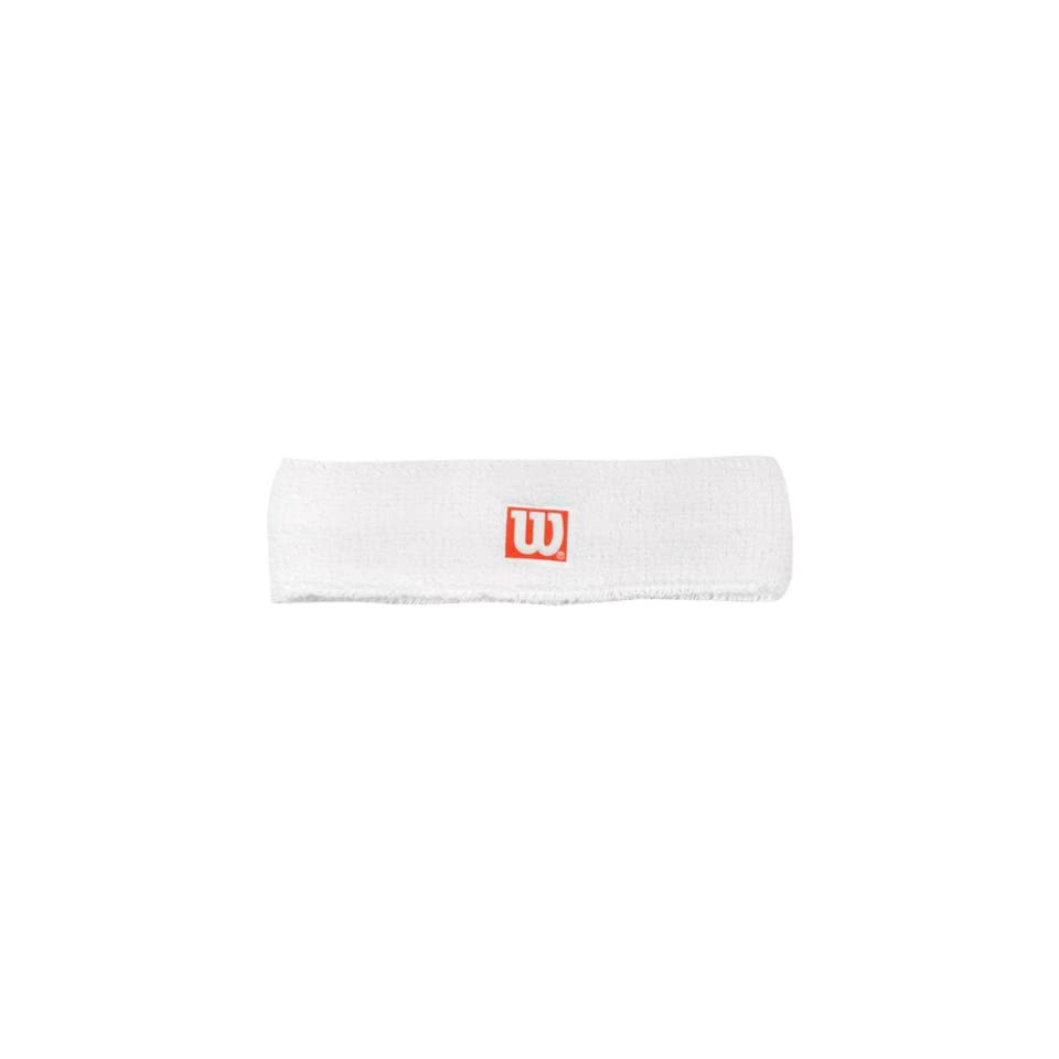 Wilson Headband White 1 Per Pack on PopScreen 318a1fa708a