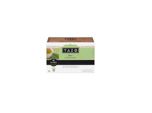 Tazo Zen Green Tea K-Cups For Use In Keurig Brewers, 10-0.14Oz Cups Per Box