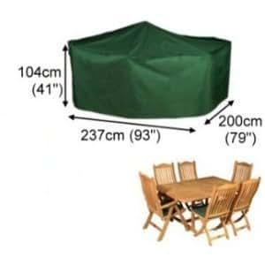 Housse pour salon de jardin rectangulaire 237cm gamme élite