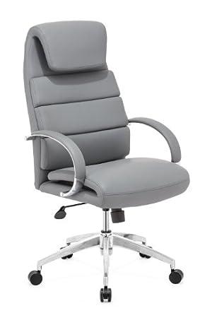 ZUO MODERN Lider Comfort Office Chair, Gray