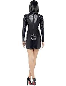 Smiffy's Adult Fever Miss Whiplash Skeleton Costume