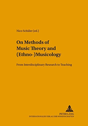 On Methods of Music Theory and (Ethno-) Musicology: From Interdisciplinary Research to Teaching (Methodology of Music Research) (Tapa Blanda)