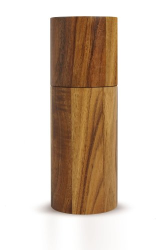AdHoc Acacia Pepper or Salt Mill Small