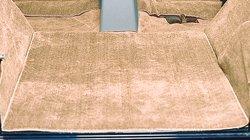 1997-2006 Jeep Wrangler Tan Replacement Carpet Deluxe Kit