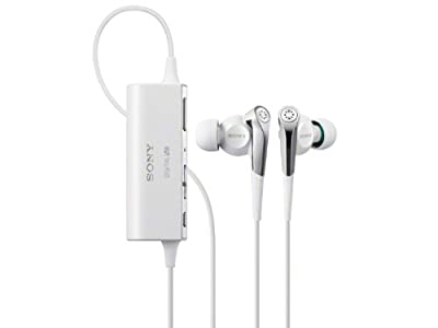Sony Noise Canceling Stereo In-Ear Headphones   MDR-NC100D W White