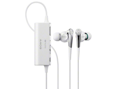 Sony Noise Canceling Stereo In-Ear Headphones | Mdr-Nc100D W White