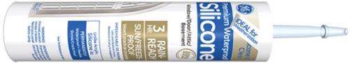 GE Silicone II Clear Caulk, 10.1-Ounce Cartridge #GE5000 (Ge Silicone Ii Clear compare prices)